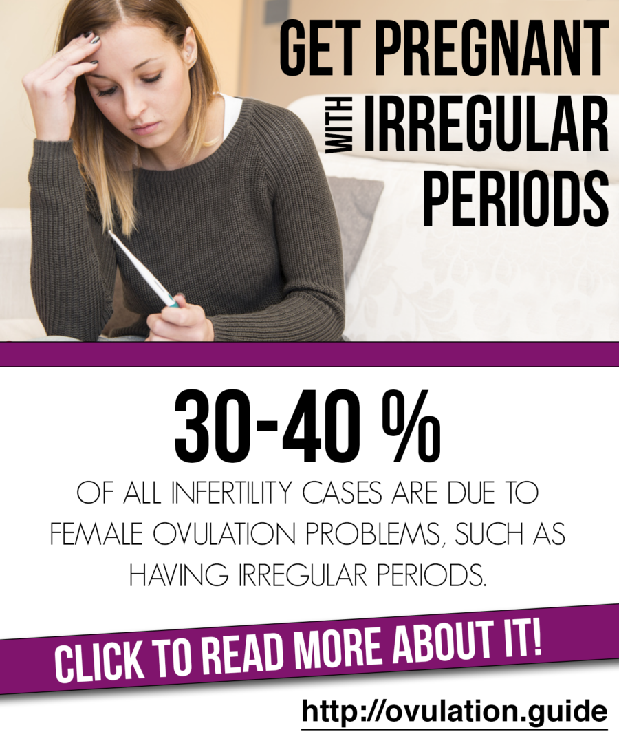 how to get pregnant irregular periods